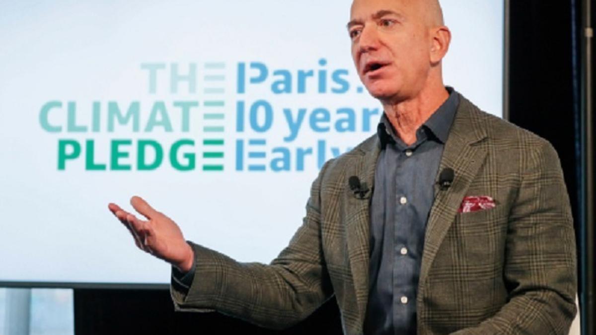 Jeff Bezos, fundador y consejero delegado de Amazon