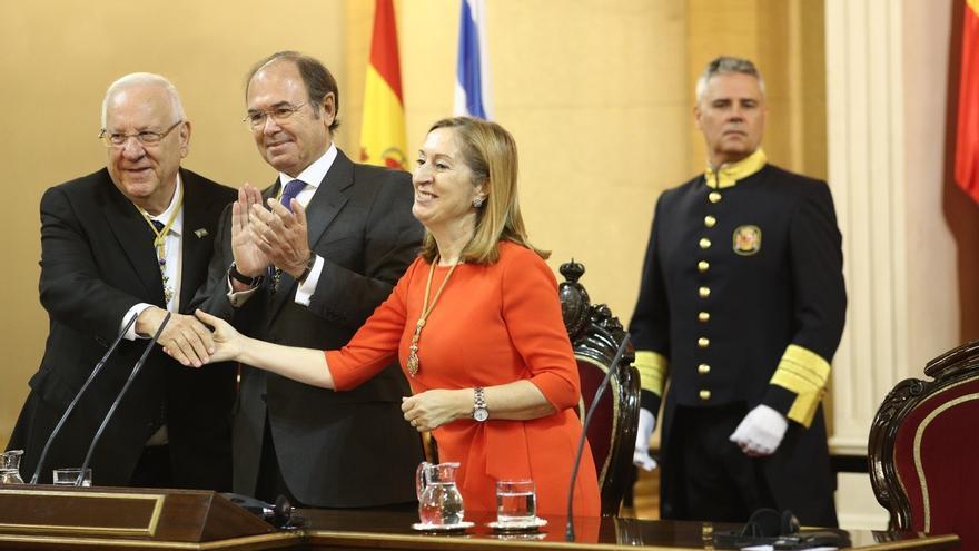 """El presidente israelí en el Senado: """"España es una única entidad estatal soberana"""""""