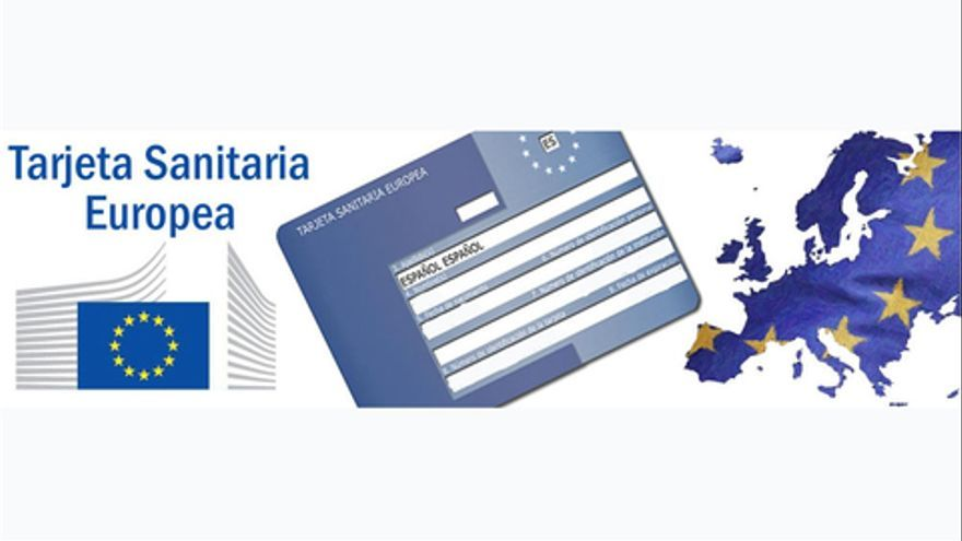 Tarjeta sanitaria europea.