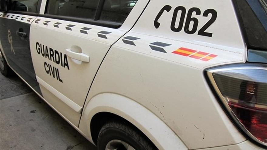 Vehículo de la Guardia Civil.