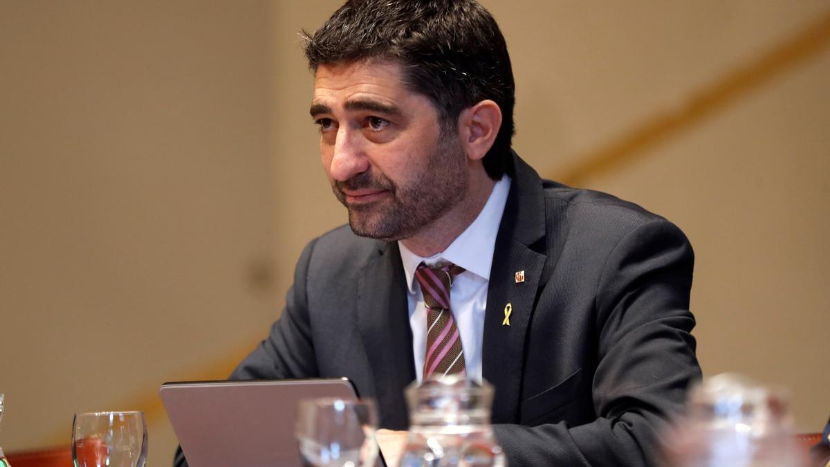 El conseller de Políticas Digitales y Administración Pública, Jordi Puigneró. EFE/Toni Albir/Archivo