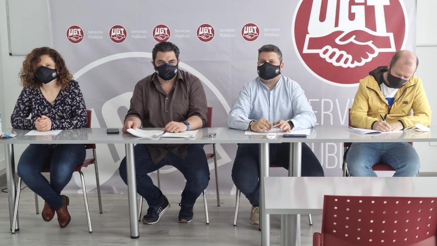 """UGT denuncia que """"la mayoría"""" de trabajadores de Asistencias Técnicas de GEACAM tienen """"contratos en fraude de ley"""""""