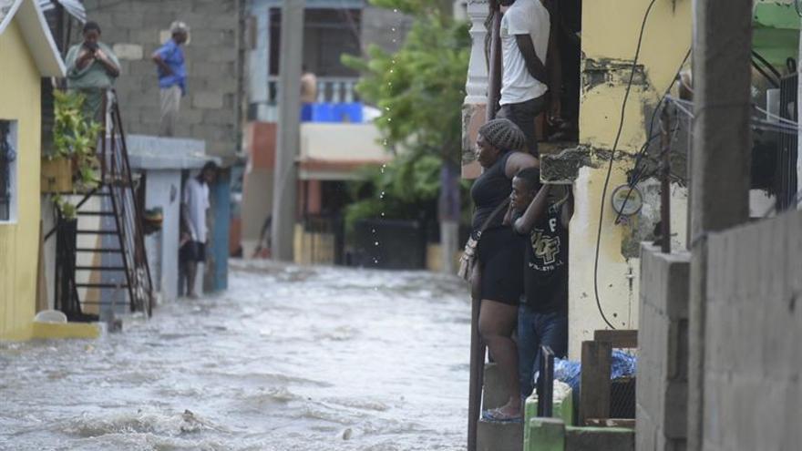 Los desplazados por Irma en República Dominicana vuelven a sus hogares