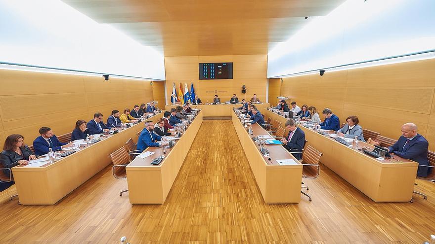 Pleno del Cabildo de Tenerife celebrado este viernes, el último del año 2018