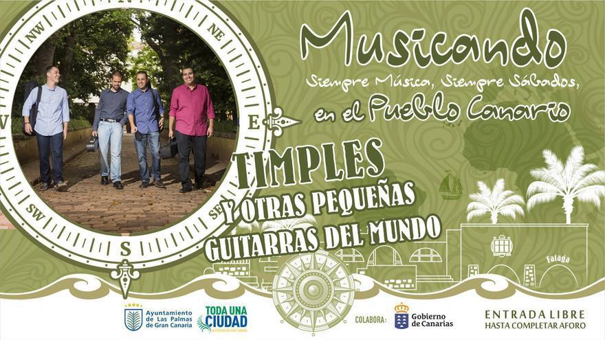 Musicando en el Pueblo Canario
