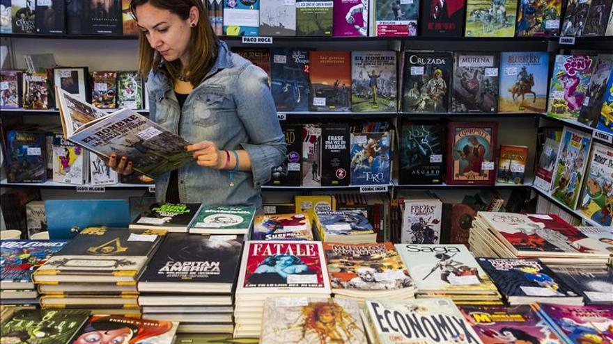 El cómic saca pecho en la 74º Feria del Libro de Madrid