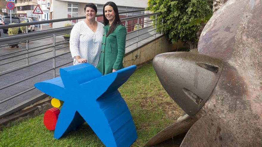 Ascensión Rodríguez y Laura García.