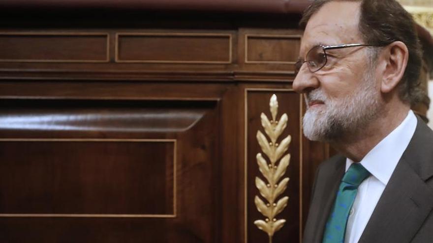 Rajoy analiza con los dirigentes del PP la situación tras perder el Gobierno