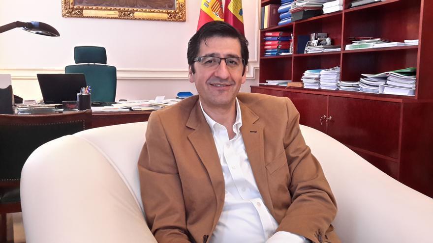 José Manuel Caballero. Presidente de la Diputación de Ciudad Real