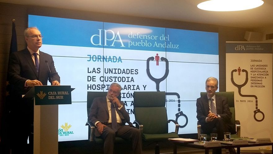 """Maeztu propone integrar la sanidad penitenciaria en el SAS y asegura que """"está garantizada"""" la atención a los presos"""