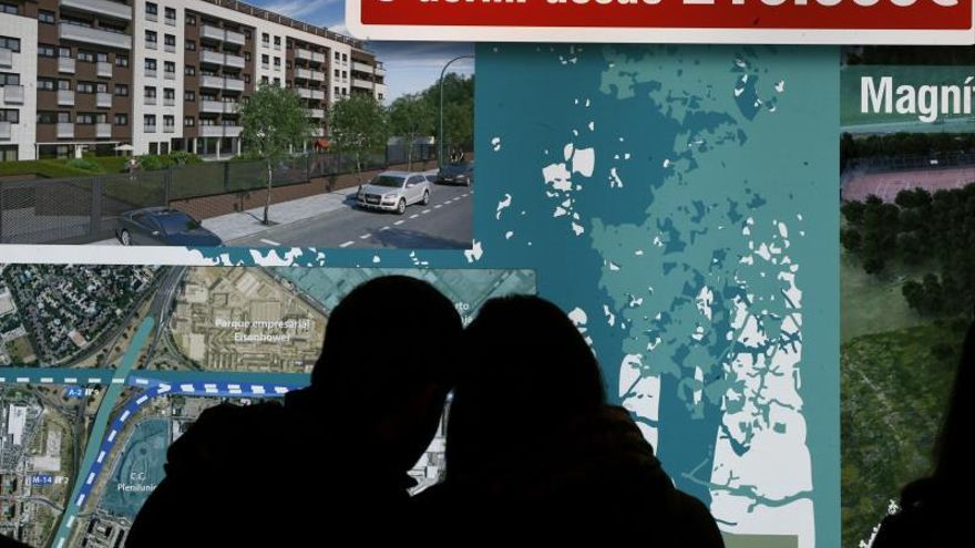 Más de 580.000 españoles tienen una vivienda que vale menos que su hipoteca