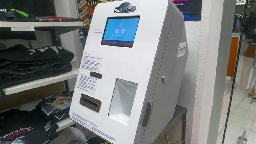 Cajero automático de bitcoins.