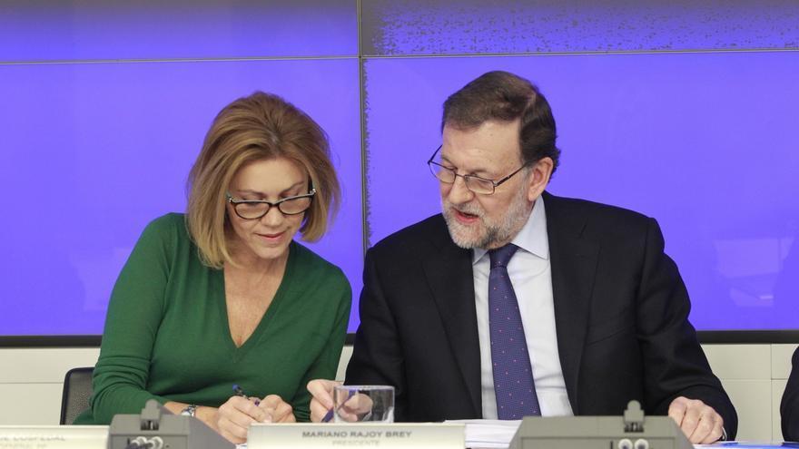 Aguirre dice ante la dirección que la gente está muy enfadada con el PP porque no ha hecho caso de los avisos