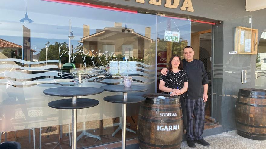 Laura y Javi en Casilda.