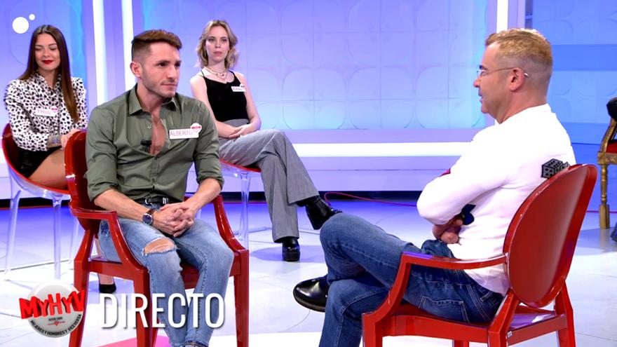 Alberto y Jorge Javier, durante su breve encuentro en 'MyHyV'