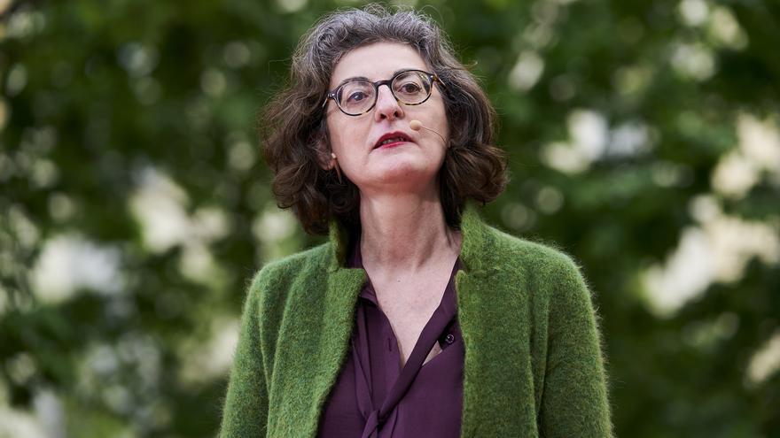 Archivo - La eurodiputada de Ciudadanos Maite Pagazaurtundúa, durante un acto electoral en Madrid.