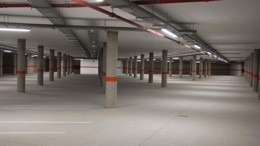 El nuevo 'parking' de Playa San Juan, en Guía de Isora, funcionará de 8.30 a 2.00