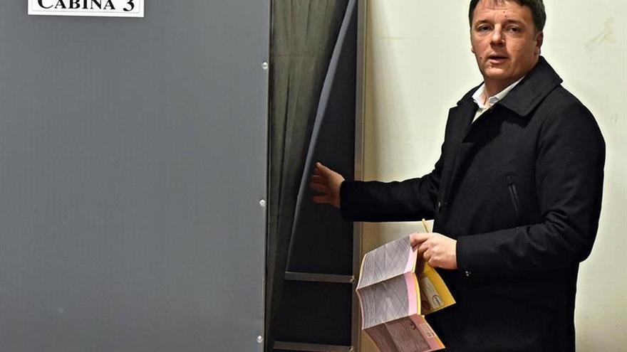 """El PD de Renzi reconoce su """"derrota neta y muy clara"""" en las elecciones"""