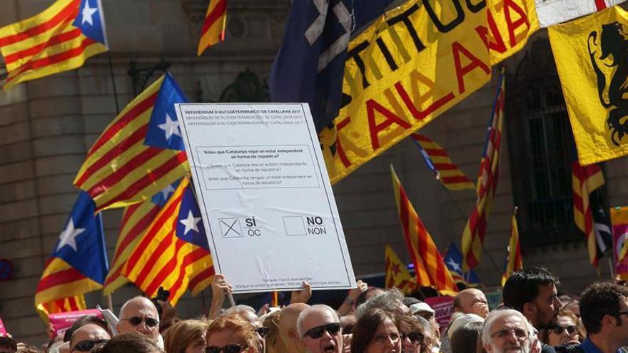 Generalitat difunde en Twitter un anuncio con instrucciones para votar el 1-O