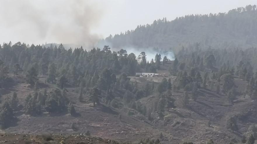 Conato de incendio en Vilaflor, Tenerife