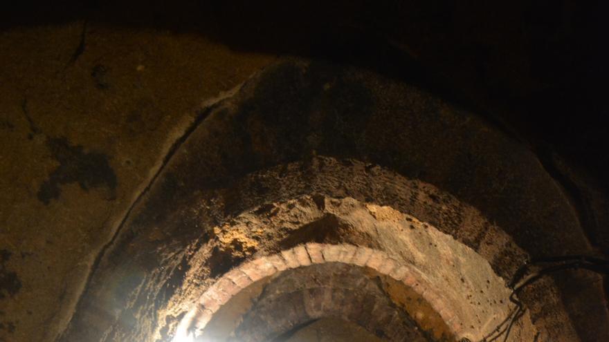 Una de las cuevas de Camarena (Toledo)