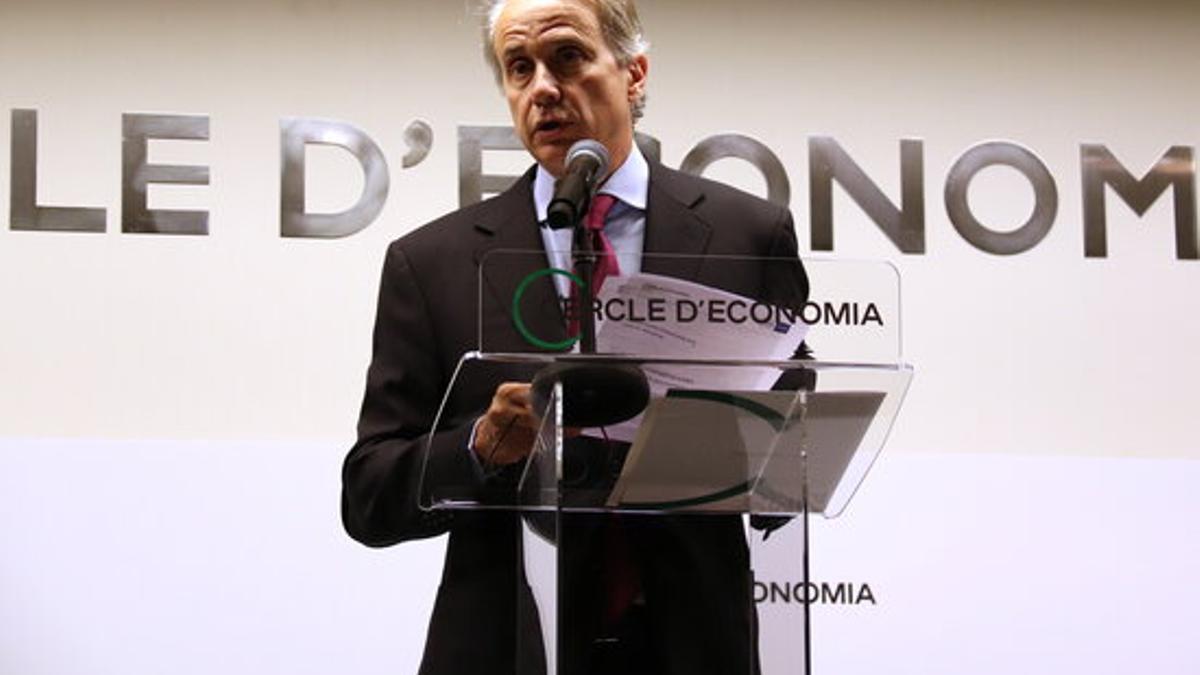 El presidente del Cercle d'Economia, Javier Faus.