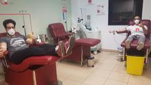 Donantes de sangre en Canarias
