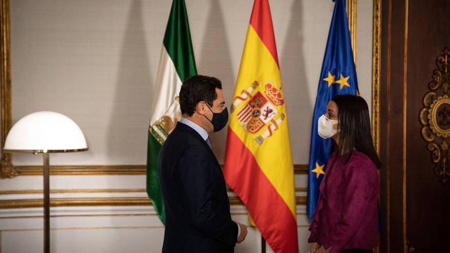Arrimadas aboga por consolidar la alianza PP-Cs en el Gobierno andaluz pero deja en el aire la candidatura de su vicepresidente