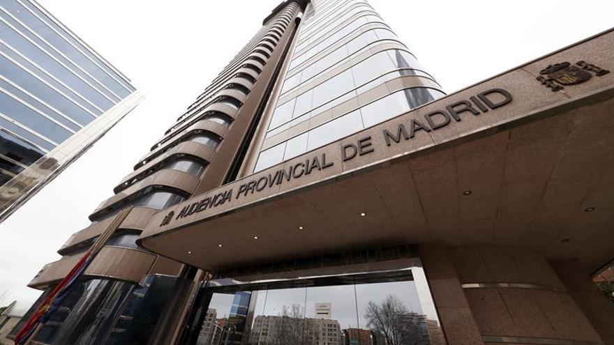 La Audiencia Provincial de Madrid, en una imagen de archivo