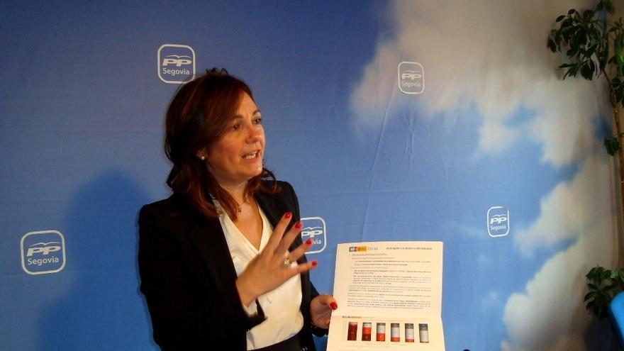 Beatriz Escudero recuerda a sus colegas del PP que la disciplina de partido dice claramente cómo deben actuar