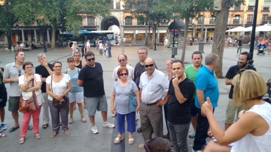 Asamblea de las Marchas de la Dignidad en Toledo