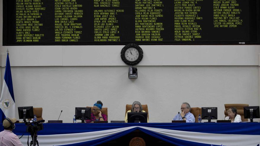 Diputados sandinistas dan el primer sí a la cadena perpetua en Nicaragua
