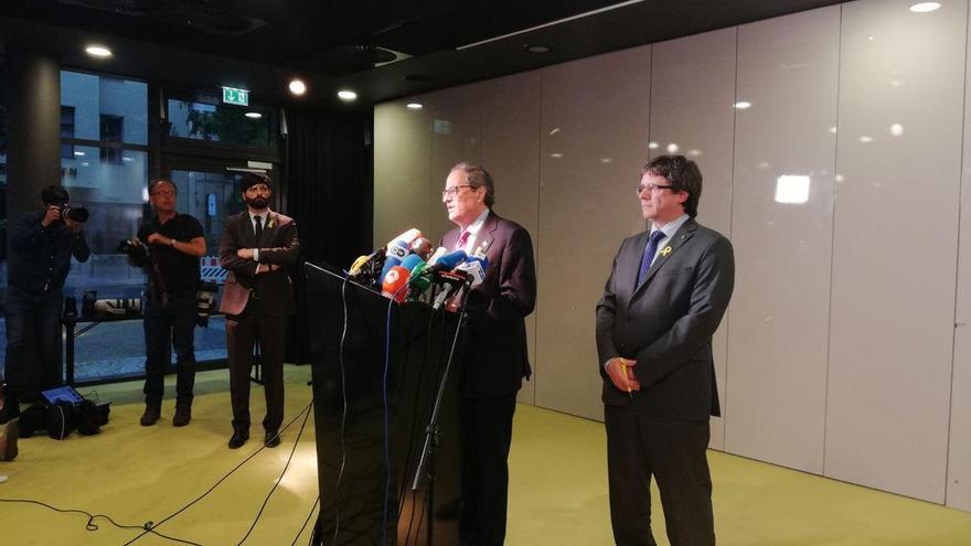 Puigdemont traslada al PDeCAT que no optará a presidir el partido
