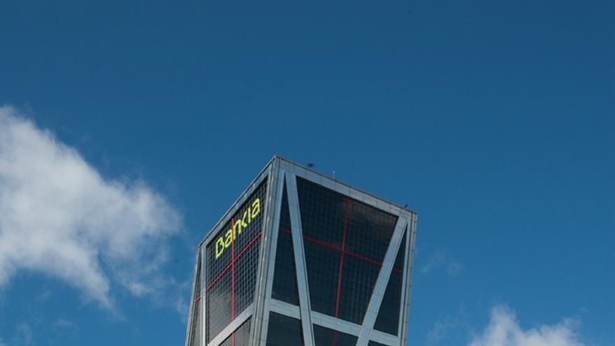 La torre de Bankia en la zona norte de Madrid