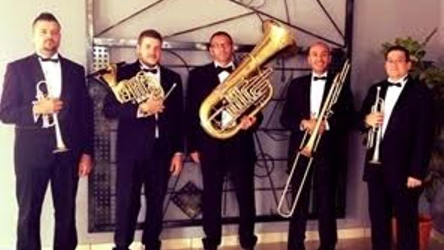 Quinteto de Metales 'Derque'.