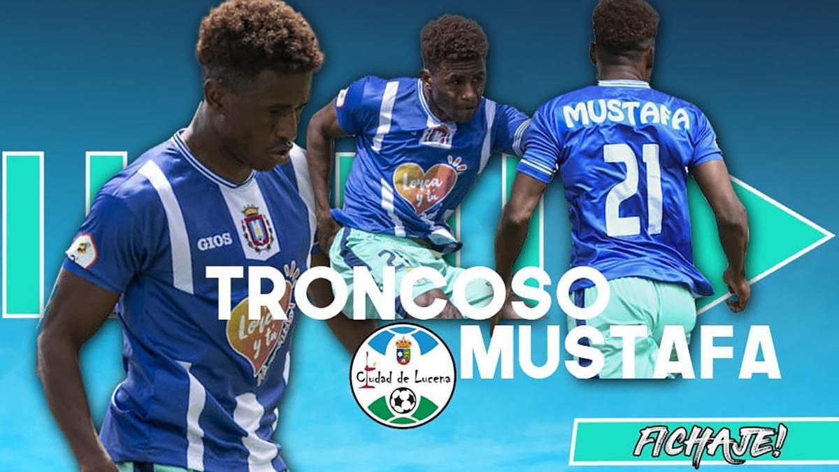 Mustafá Troncoso, nuevo jugador del Ciudad de Lucena.
