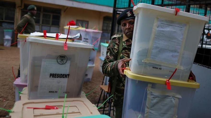 Primeros disturbios tras la denuncia de fraude electoral en Kenia