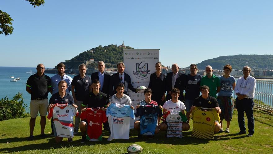 Gobierno Vasco y Eurorregión Nueva Aquitania-Euskadi-Navarra impulsan una liga de rugby transfronteriza