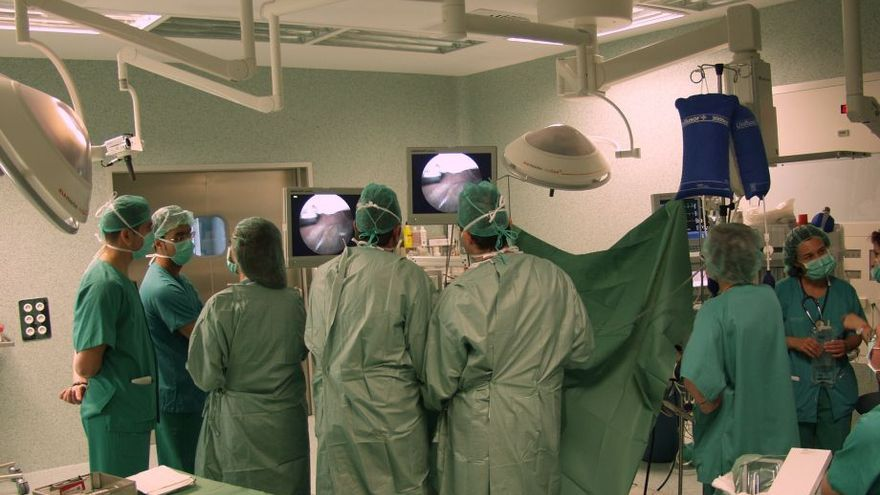 Quirófano de un hospital público