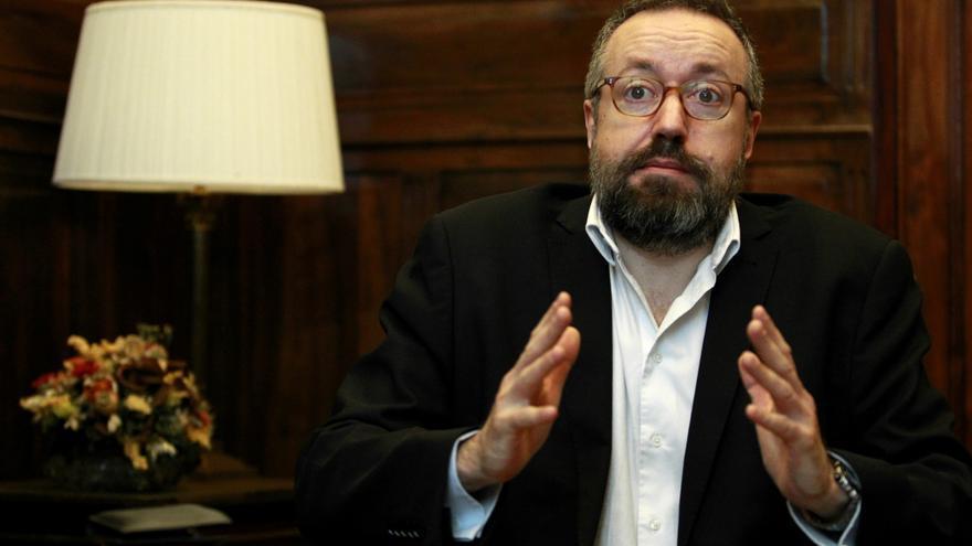 El portavoz parlamentario de Ciudadanos, Juan Carlos Girauta.