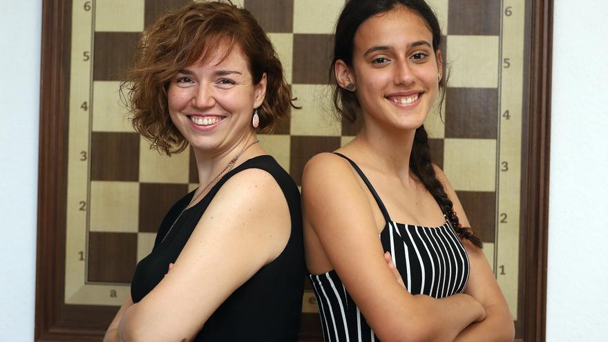 Sabrina Vega sigue con la labor de tecnificación de las ajedrecistas tinerfeñas