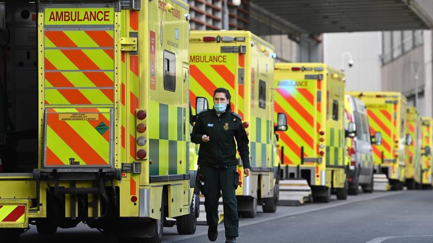 Reino Unido notifica más de 22.800 contagios, récord desde finales de enero