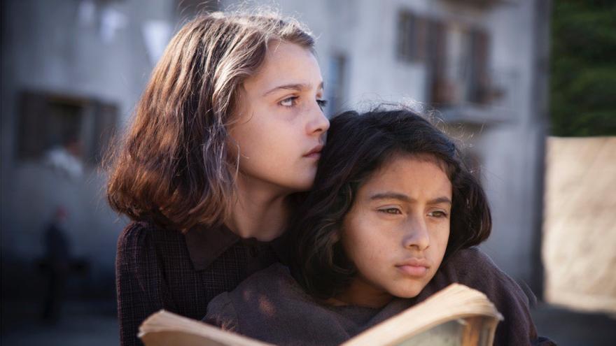 Lénu y Lila, las protagonistas de 'La amiga estupenda'