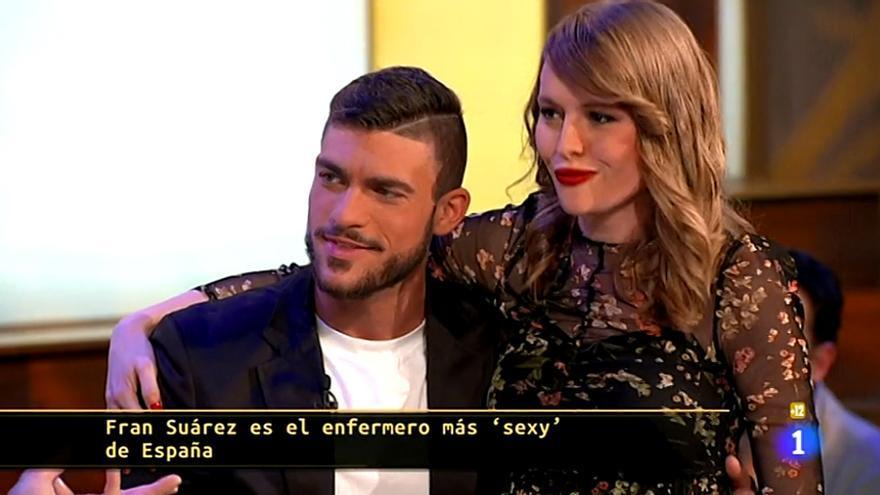 El enfermero más sexy de España visitó 'Hora Punta' en TVE