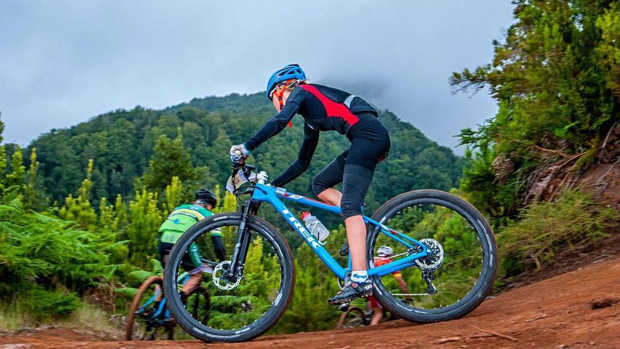 Los participantes de la K75  de la Transvulcania Bike recorrerán Breña Baja, Breña Alta, Villa de Mazo, Fuencaliente y El Paso.