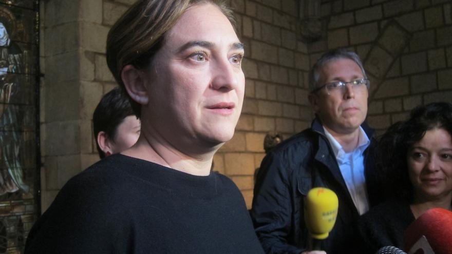 """Colau afirma que el debate sobre Cataluña """"se resuelve con un referéndum, no con sentencias"""""""