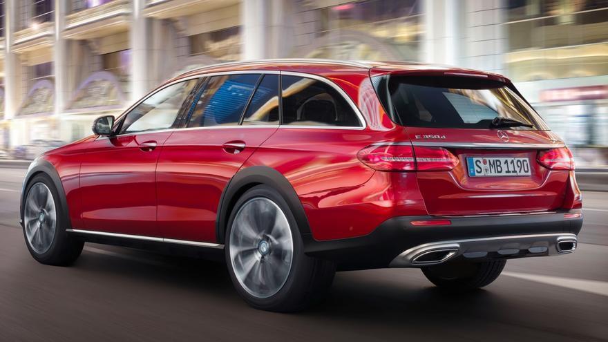 El Mercedes Clase E All Terrain tiene un diseño diferenciado respecto al resto de la gama.