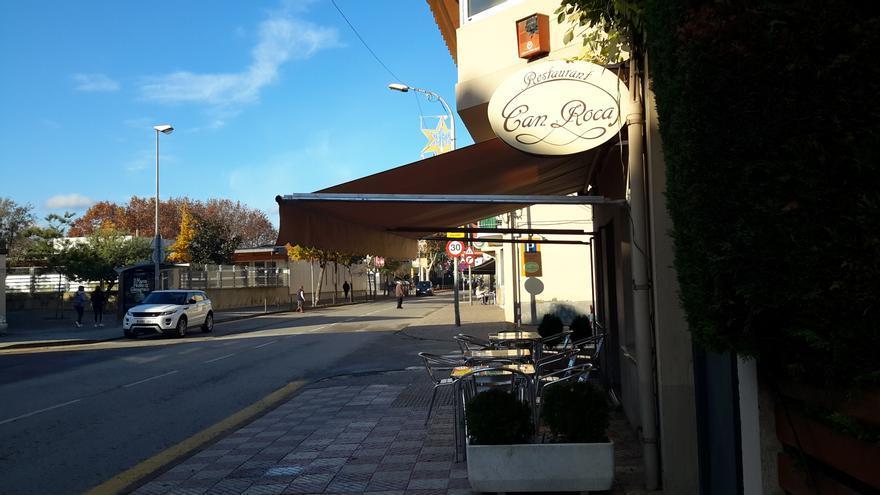 Can Roca, el establecimiento que todavía regente la familia Roca Fontané en la carretera de Talaiá, en Girona