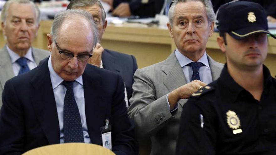 El tribunal de las tarjetas opacas legitima a Bankia y FROB como acusaciones