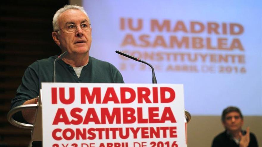 """Cayo Lara: La asamblea constituyente será un """"nuevo tiempo"""" para IU Madrid"""